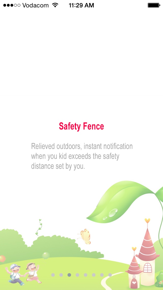 Kids Gps personal tracker watch safety fence